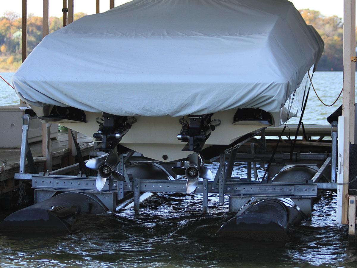 10,000 lb capacity boat lift