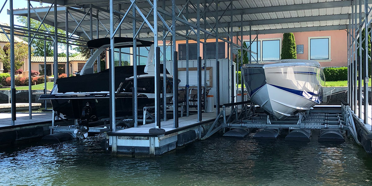 rough water boat lift