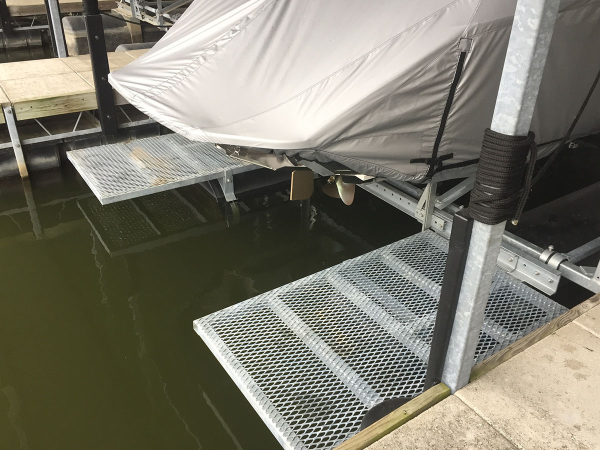 Boat Lift Dock Walkways